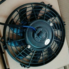 200cc 250cc Water Cooling Fan for Engine Cooler Radiatormoto Quad 4x4 ATV UTV Parts nc250 engine plate gear assy overrunning clutch 250cc zongshen engine xmotos apollo kayo bse 250cc 4valves parts