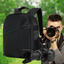 Upgrade Waterproof multi-functional Digital DSLR Camera Video Bag w/ Rain Cover SLR Camera Bag PE Padded for Photographer