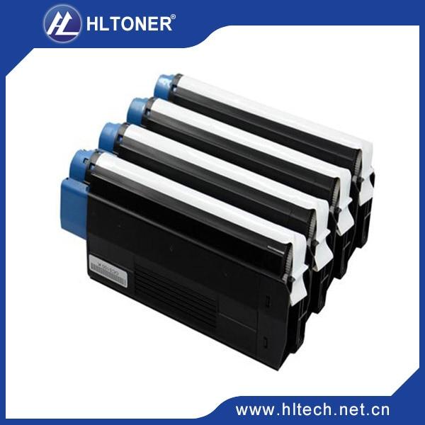 color toner cartridge compatible OKI C5100/5150/5200/5300/5400/3200 cyan/magenta/black/yellow 4pcs/lot