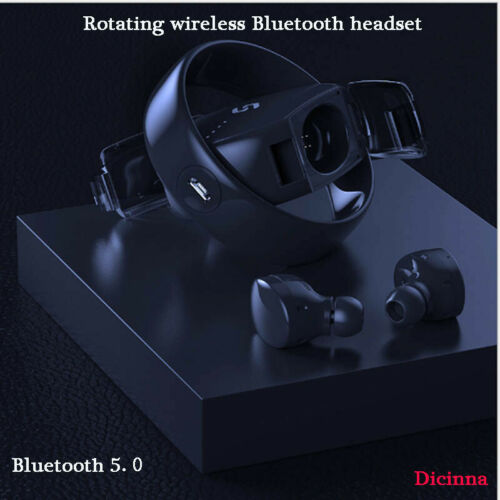 Bluetooth 5.0 Headset TWS Wireless Earphones Mini Earbuds Stereo Dynamic For Mobile Phone