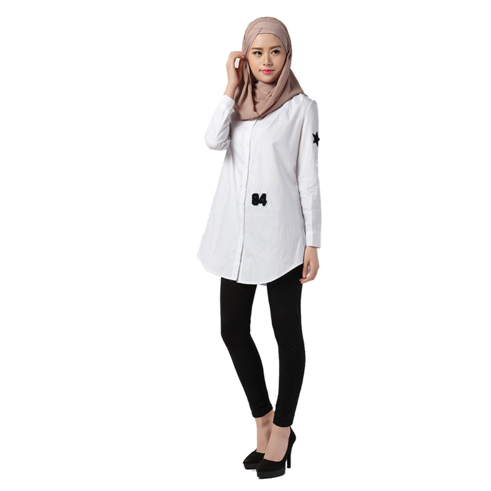 Summer White Women Blouses Long Sleeve Size Ladies Office Shirts Fashion Autumn Casual Tops Design Women New Arrival