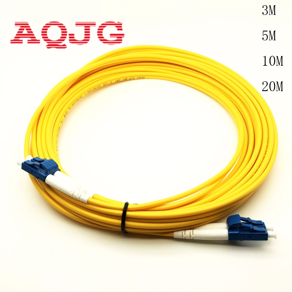 20M OUTDOOR ARMORED LC-LC 2 STRAND MM 1GB 62.5//125 Fiber Patch Cord