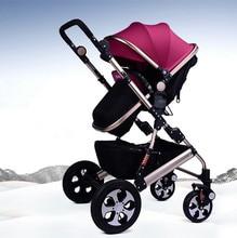 China Cheap Baby Prams Pushchairs,Multifunction Newborn Baby Stroller Portable Baby Carriage Ultralight Pushchair Folding Pram