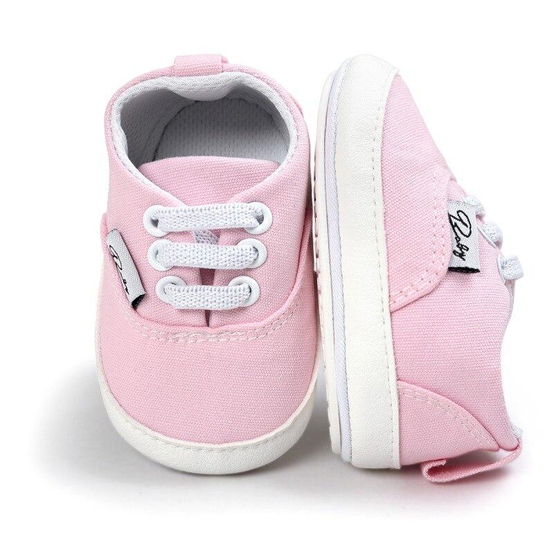 0-18M Newborn Girl Boy Soft Sole Toddler Infant Sneaker Shoes Casual Prewalker 2017