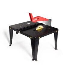 Столярный верстак многофункциональный комбинированный стол портативная Бытовая вешалка раздвижная электрическая циркулярная пила РАСПИЛОВОЧНЫЙ стол