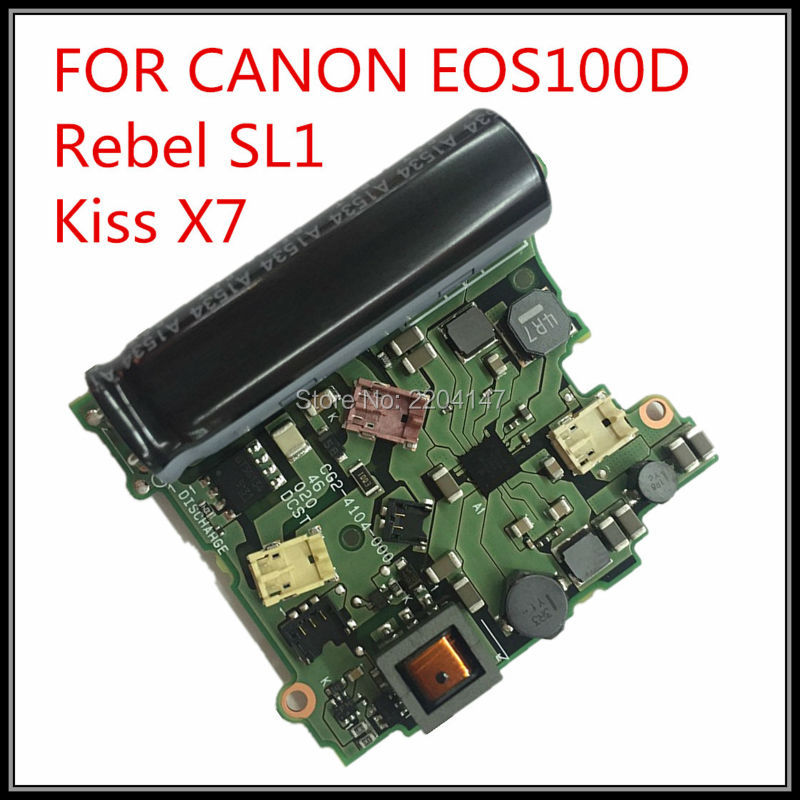 100% NEW  original  For Canon EOS 100D Rebel SL1 Kiss X7 Power Board DC/DC Flash Drive Board free shipping 100% original for canon eos 1200d rebel t5 kiss x70 dc dc power board flash board