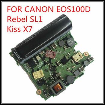 100% nouveau original pour Canon EOS 100D rebelle SL1 Kiss X7 carte d'alimentation DC/DC carte Flash