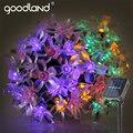 Goodland 5 M LED Solar Luces de Cadena Impermeable LLEVÓ La Luz Al Aire Libre Jardín Iluminación Para El Festival De Navidad Decoración Del Partido