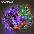 Goodland 5M Solar LED String Lights Waterproof LED Light Outdoor Garden Lighting For Christmas Festival Party Decoration