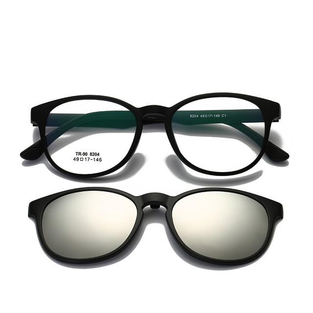 13d5f65c0f4 Vazrobe Clip on Polarized Lens Sunglasses Women Men Driving Sun Glasses  Myopia TR90 Frame Tinted UV400