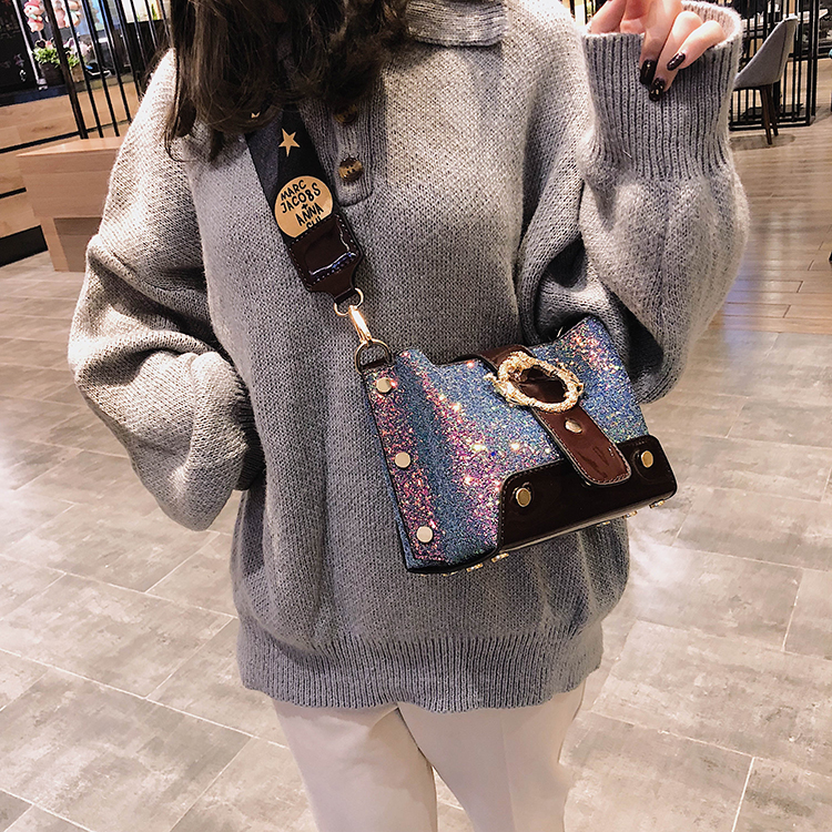 Women Patchwork Handbag Crossbody Bag Soft Leather Square Casual Ladies Chain Shoulder Girl Chain Messenger Satchel Bag louis 30