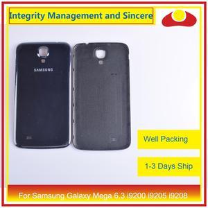 Image 5 - 10 шт./лот для Samsung Galaxy Mega 6,3 i9200 i9205 i9208 GT I9200 корпус Батарейная дверь задняя крышка корпус