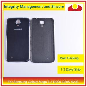Image 5 - 10Pcs/lot For Samsung Galaxy Mega 6.3 i9200 i9205 i9208 GT I9200 Housing Battery Door Rear Back Cover Case Chassis Shell
