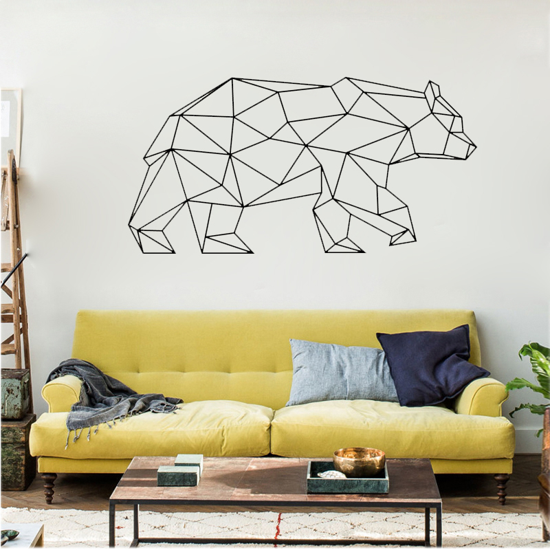 Awesome Bear Wall Art Embellishment - Wall Art Design ...