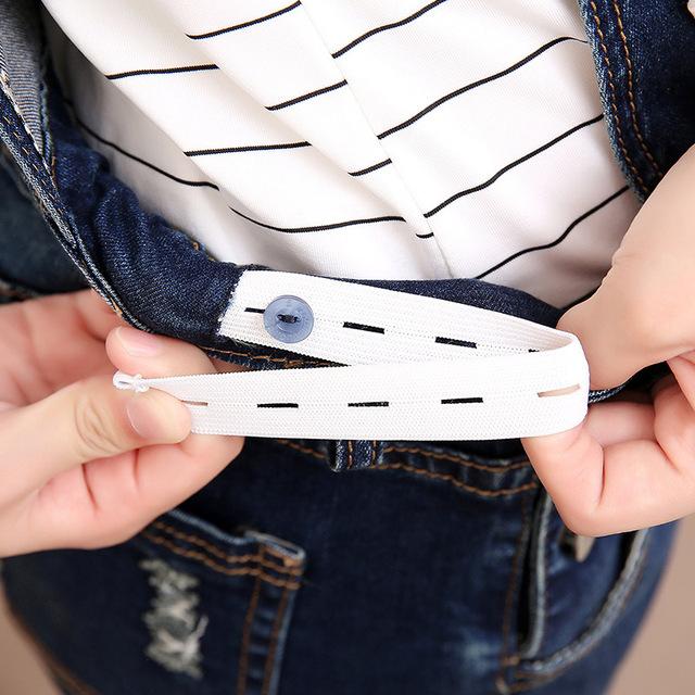Pregnancy Denim Jeans Overalls