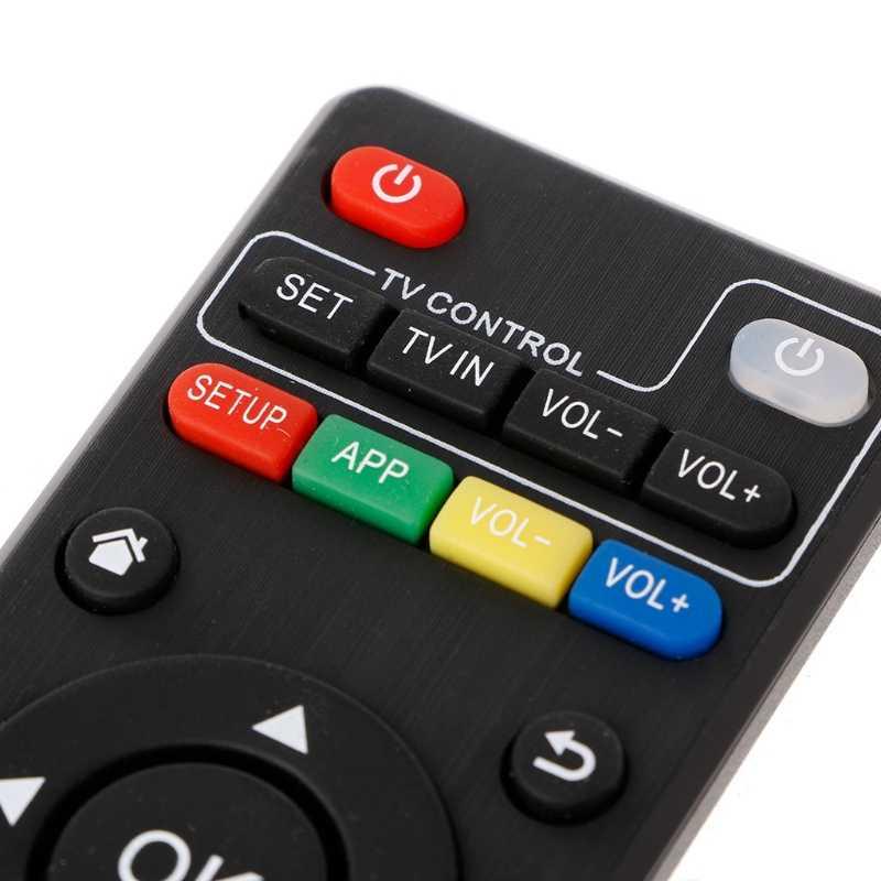 IR Telecomando di Ricambio Per Android TV Box H96 pro +/M8N/M8C/M8S/V88/ x96 Supporto di Trasporto di Goccia