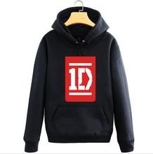 New One Direction hoodie 1D ROck men hooded Fall and Winter Cotton Jacket Sweatshirt Coat