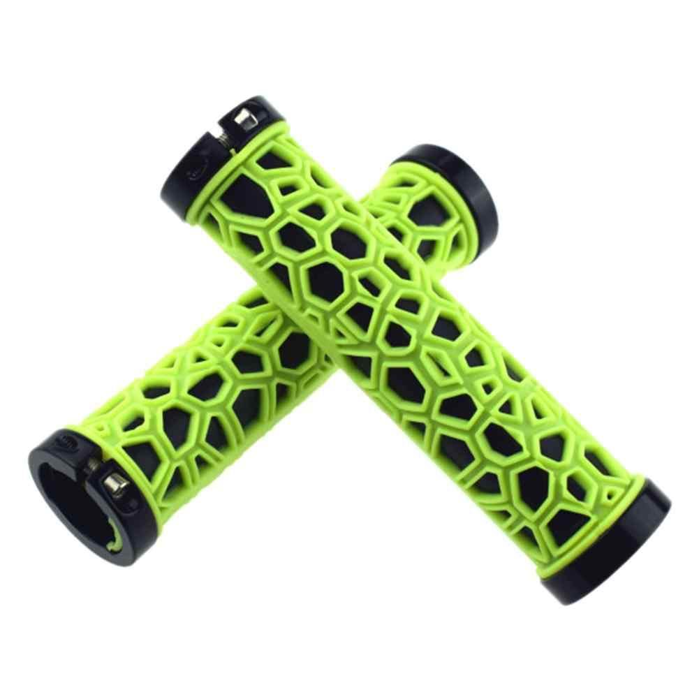 Полые рукоятки противоскользящие ручки резиновые мягкие рукоятки для руля ручки для велосипеда замок на горный велосипед Велоспорт S2