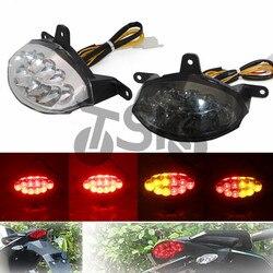 Dla KTM 125 200 390 DUKE 2012 2013 2014 2015 akcesoria Motorcycler zintegrowana lampa LED tylne światło pozycyjne kierunkowskaz migacz