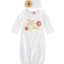 Новая одежда для рождества, маленькая сестренка, Одежда для новорожденных девочек, одежда для дома, блестящее платье розового и золотого цвета, комплект с шапочкой