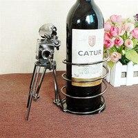 Personalized wine rack Stand wine Bottle Shelf Hotel restaurant cabinet decoration Prop Wine Holder Wine Glass Rack