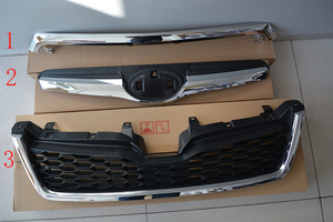 Front Racing Grill For Subaru 2013-2016 Forest Outback XV Impreza(China)