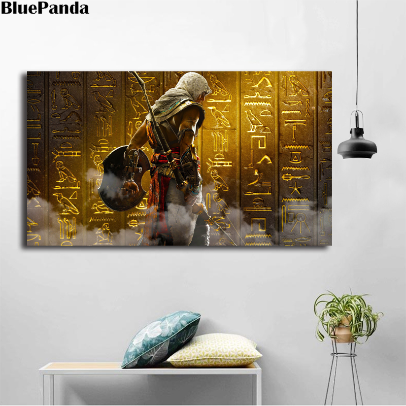 The Curse Of The Pharaohs Assassinings Creed Origins Poster Canvas Painting Wall Art Pop Art Decoration Pictures Home Decor image