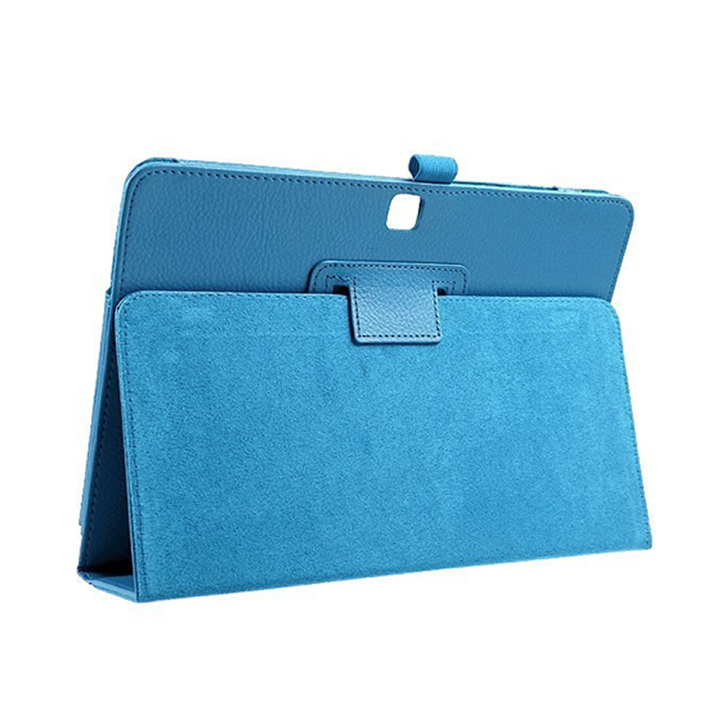for Samsung Tab4 T530 T531 T535 Tablet Cover 10.1 inch Fashion Solid Stand Flip for Samsung Tab 4 T530 Leather Protective Case pu leather tablet case cover for samsung galaxy tab 4 10 1 sm t531 t530 t531 t535 luxury stand case protective shell 10 1 inch