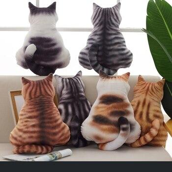 Милая плюшевая игрушка кошка диван Подушка Дети Спящая Подушка подарок на день рождения