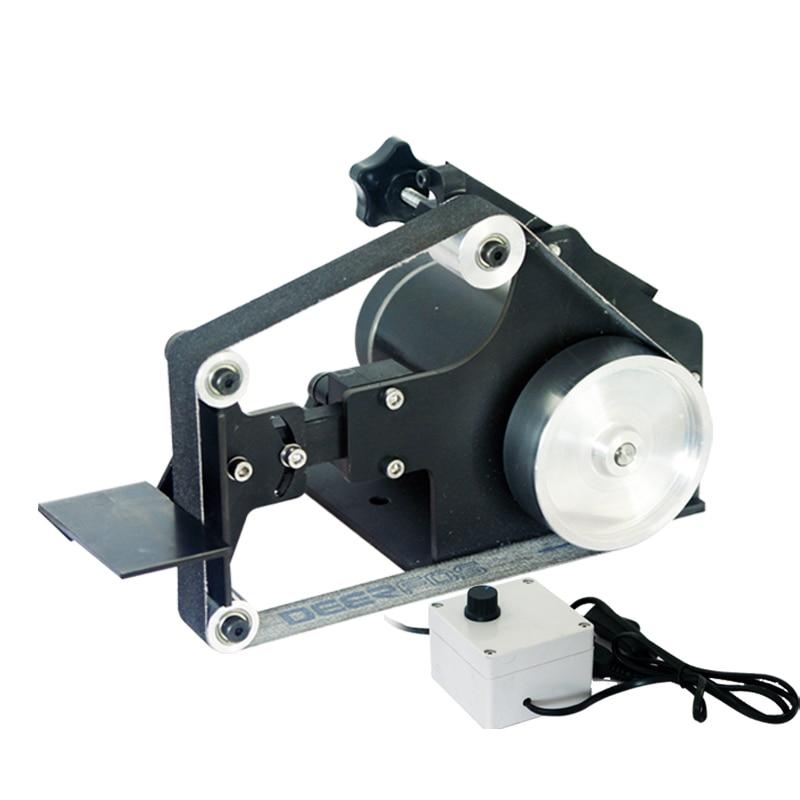220V High Power 700W belt machine DIY Belt Sander DIY Polishing Grinding machine 7500RPM Y 25 762mm electronic belt sander polishing machine