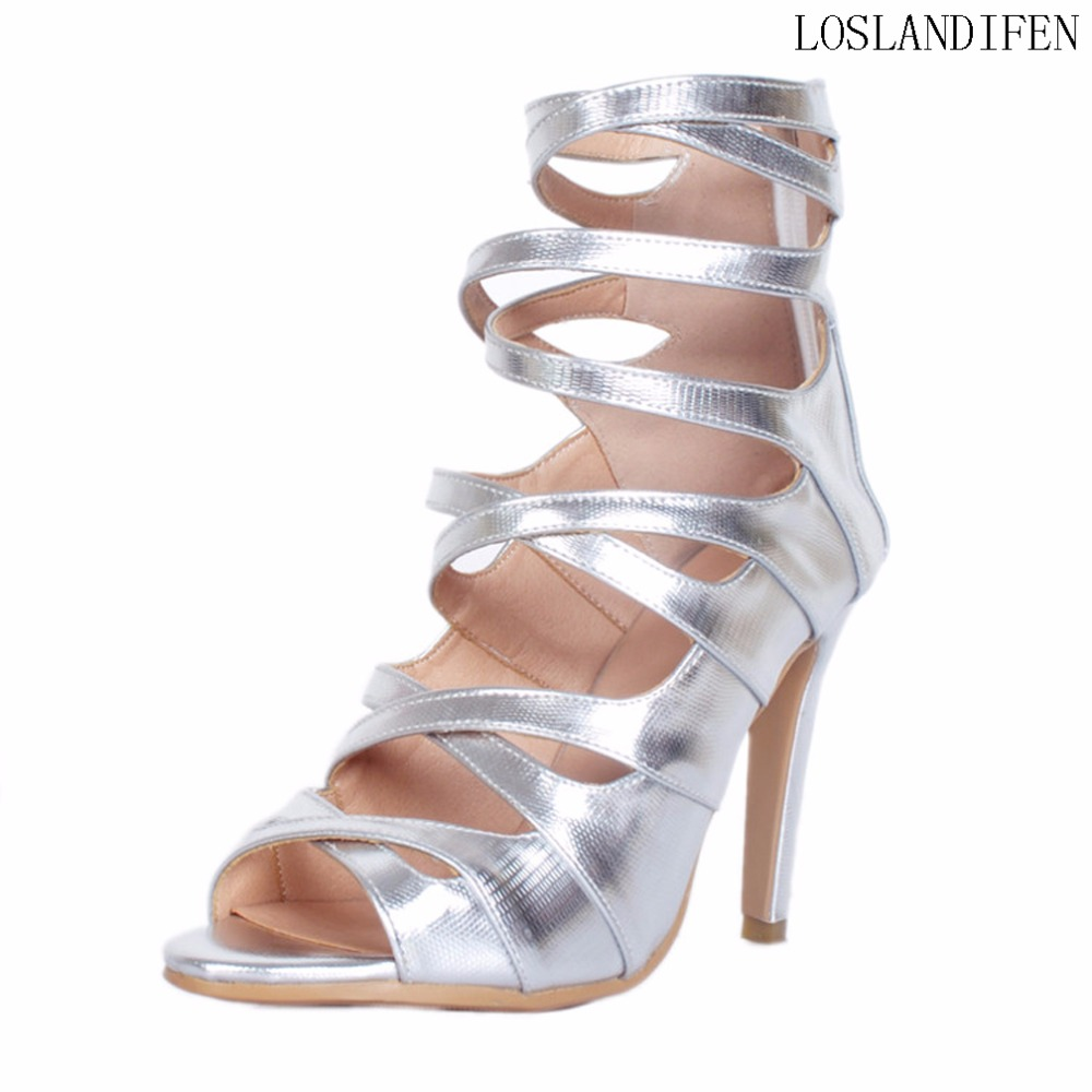 Women Ladies Handcrafted High Heel Sandals Crosscriss Peep-toe Party Prom Fashion Summer Large Size Stiletto Shoes A101Women Ladies Handcrafted High Heel Sandals Crosscriss Peep-toe Party Prom Fashion Summer Large Size Stiletto Shoes A101