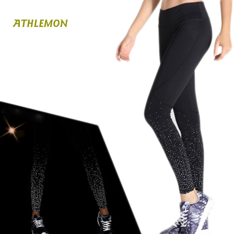 New Compression Leggings Women Yoga Pants Lulu Running Gym Workout Jogging Female Sport Tights Pants Plus Size Fitness Leggins