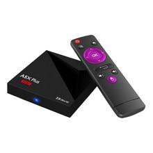 Original Android 9.0 Caixa de TV Mini A5X Plus RK3328 caixa Smart tv 1G/8G RAM 2G/16G ROM 3D Wifi USB3.0 porta Media Player