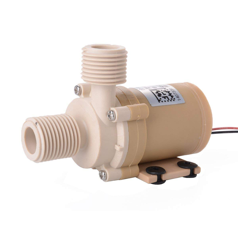 New Solar DC 12V Hot Water Circulation Pump Brushless Motor Water Pump 3M Water Head AD066