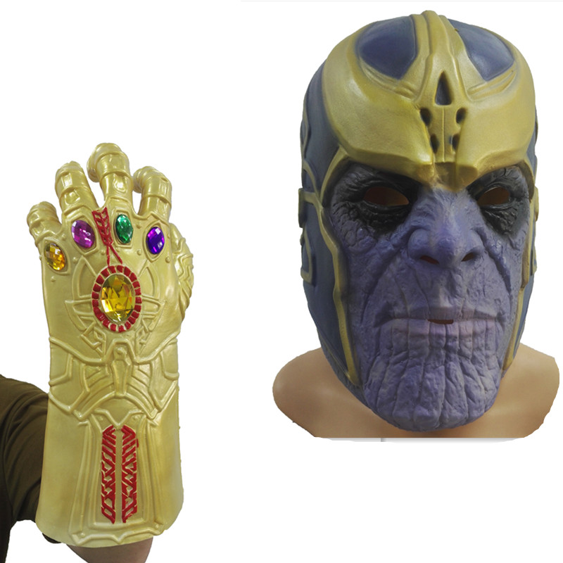 Back To Search Resultstoys & Hobbies Useful Thanos Mask Infinity Gauntlet Avengers Infinity War Gloves Helmet Cosplay Thanos Masks Halloween Props Kids Christmas Gift Vivid And Great In Style