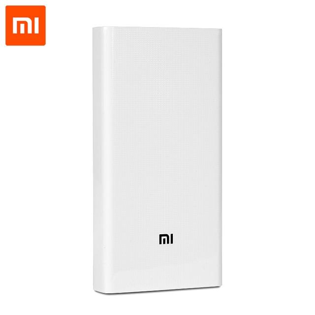 Оригинал Xiaomi Power Bank 20000mAh внешний аккумулятор Портативное Зарядное Устройство Dual USB Powerbank 20000 мАч Для iPhone Samsung Редми iPad