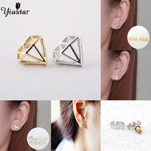 Yiustar Fashion Perhiasan Anting 3 Bintang Wanita Stud Earrings Hadiah Perhiasan Aksesoris(China)