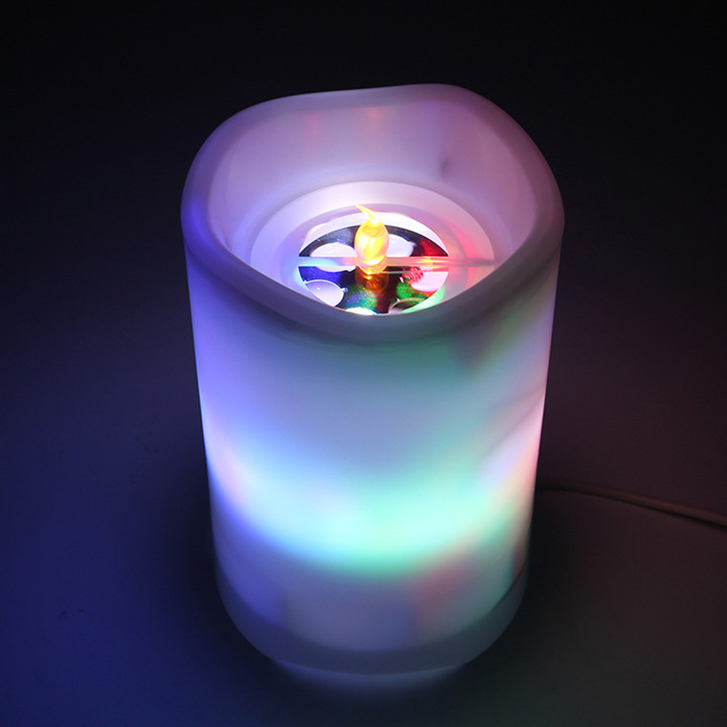Projection Lamp Flameless LED Candle Battery Operated with Candy Moon Projection Remote Control LB88