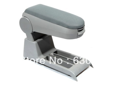 Center Console Armrest (Cloth Grey) For VW Volkswagen Polo 9N3