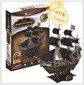 Образовательные игрушки 1 шт. CubicFun карибский пиратский корабль черная жемчужина 3D бумага головоломки сборки модели в подарок