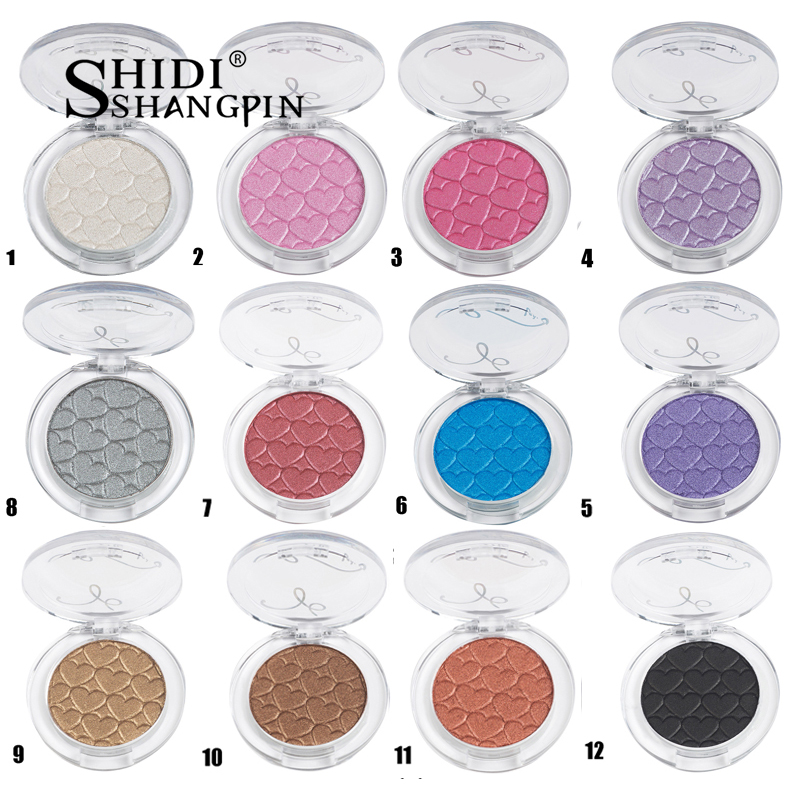 Single Color 28 Colors Eye Shadow Palette Makeups Cosmetic Mirror Waterproof Matte Glitter Eyeshadow Palette Makeup Eye Shadow Special Summer Sale Beauty Essentials