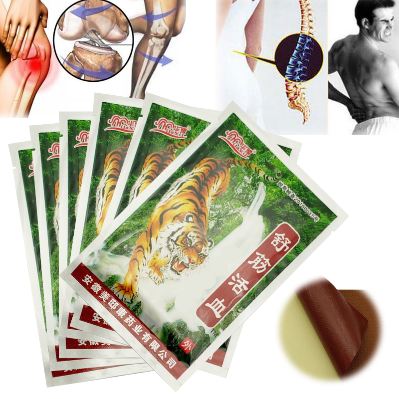 16PCS Tiger Balm Far IR Treatment Porous Chinese Medical Plaster Pain Relief Patch Relieve Joints Pain Relief Patch