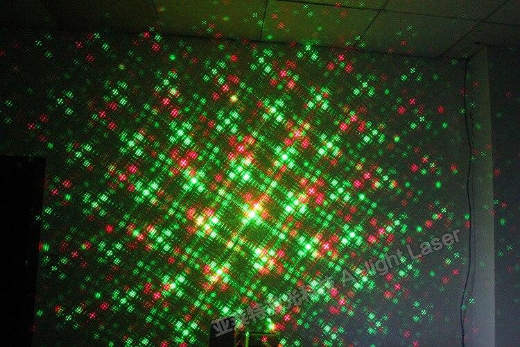 Tinhofire A-04G(LED) Remote Control 2 Hole Whirlpool MINI LED R&G Laser Stage Light Lamp Lighting Sound Control Party KTV DISCO