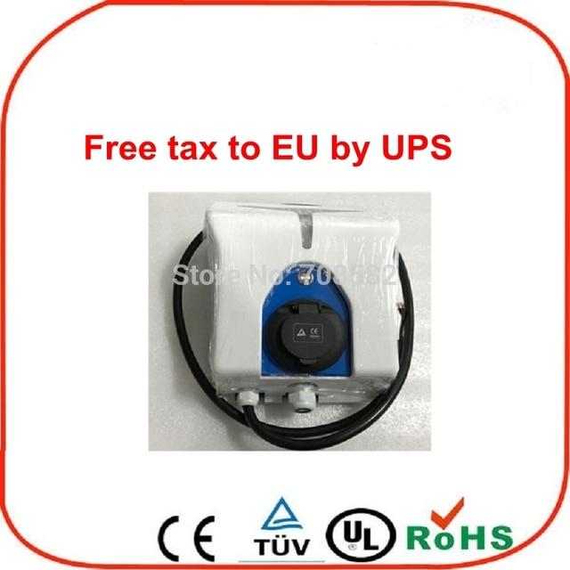 Deligreen evse настенный EV Зарядное устройство J1772 разъем 3.6kw-7.2kw/EV зарядная станция/стенки коробки EV Зарядное устройство