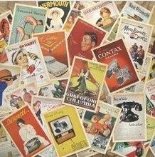 7Packs/Lot Studenten Diy Kaarten 32 Stks/set Vintage Europese Stijl Card Set Geheugen Postkaart Wenskaart Gift Mode groothandel