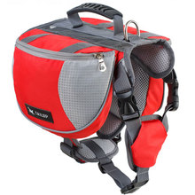 Professional Outdoor Dog Backpack Side Pack Hound Camping Hiking Travel Saddle Bag For Small Medium Large Dogs