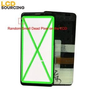 Image 2 - AMOLED Nhỏ Chết Piexl Dành Cho SAMSUNG Galaxy SAMSUNG Galaxy S9 G960 MÀN HÌNH Hiển Thị LCD S9 + Plus G965 có Khung Bộ Số Hóa Màn Hình Cảm Ứng hội Thay Thế