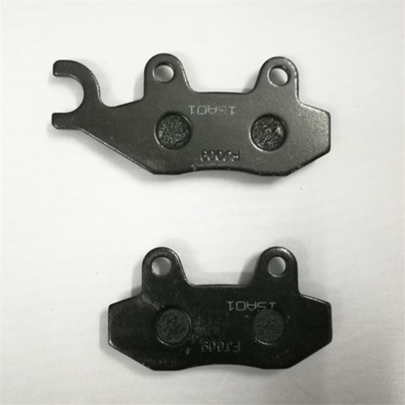 1 par de zapatas de freno trasero de la motocicleta pastillas de - Accesorios y repuestos para motocicletas