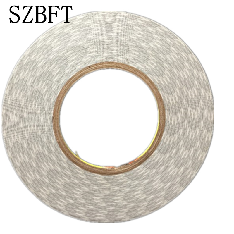SZBFT 5mm *50M White 3M 9080 Hi-Temp Double Sided Tape Adhesive For LED LCD Panel Strip