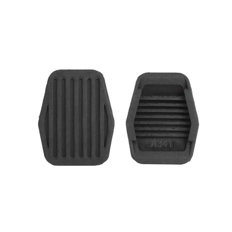 2X Freno Y Goma Pedal Embrague Goma de Pedal Referencia Para Ford 7A624